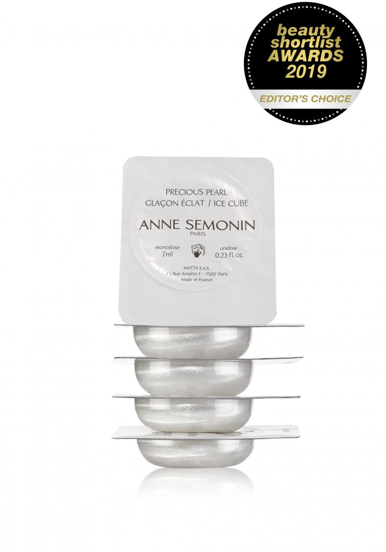 Жемчужные кубики льда для мгновенного тонуса и сияния кожи - Жирная - Anne Semonin Skincare