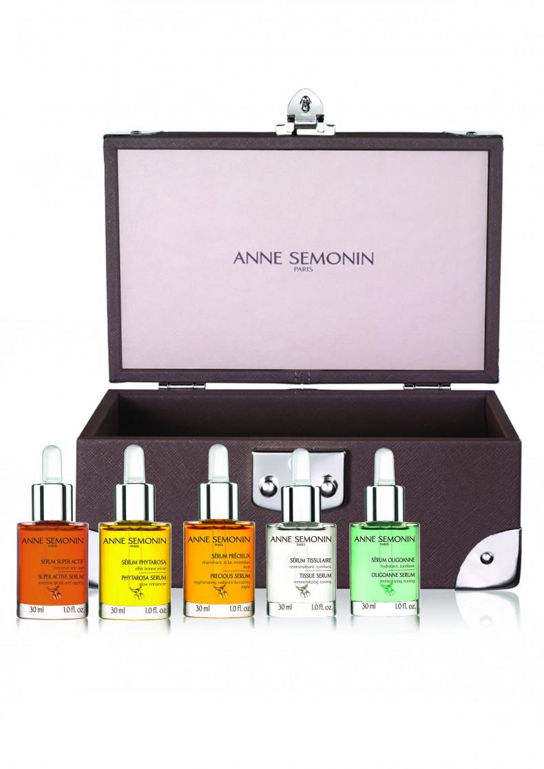Набор «Легендарные сыворотки Anne Semonin в лимитированном сундуке» - Наборы - Anne Semonin Skincare