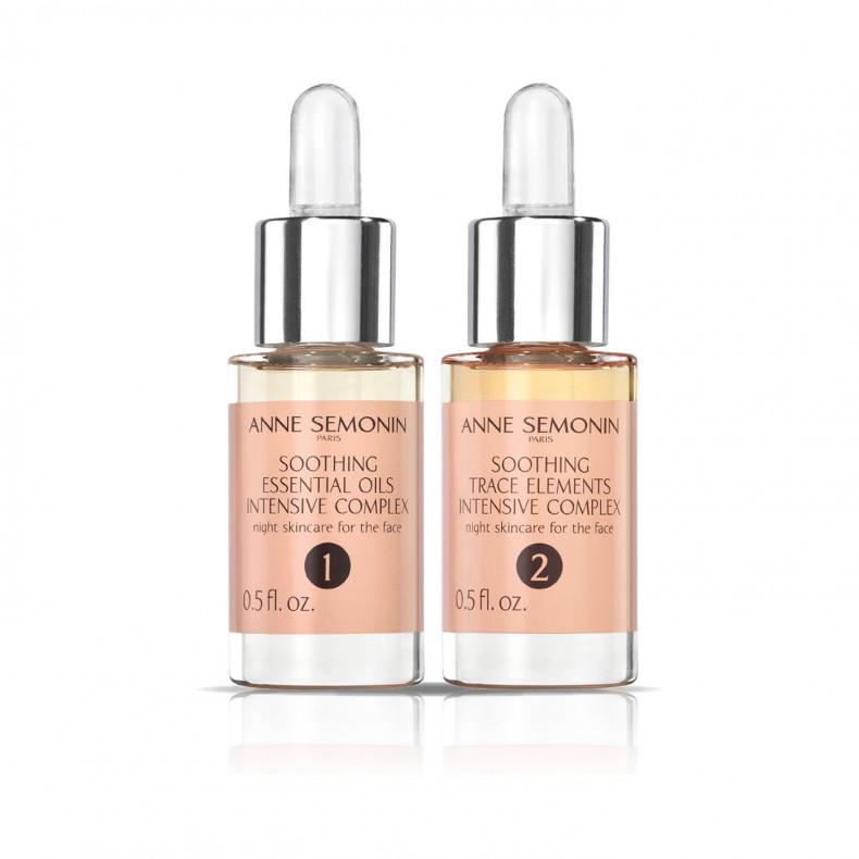 Успокаивающий интенсивный комплекс  с эфирными маслами и олигоэлементами - Уход за кожей - Anne Semonin Skincare